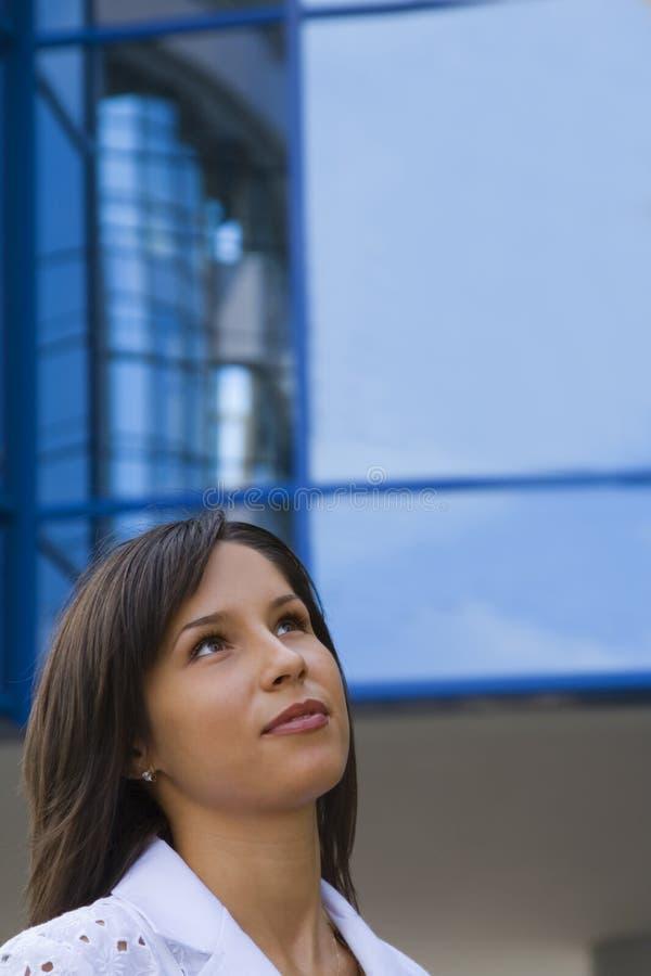 Thinking to future stock photography