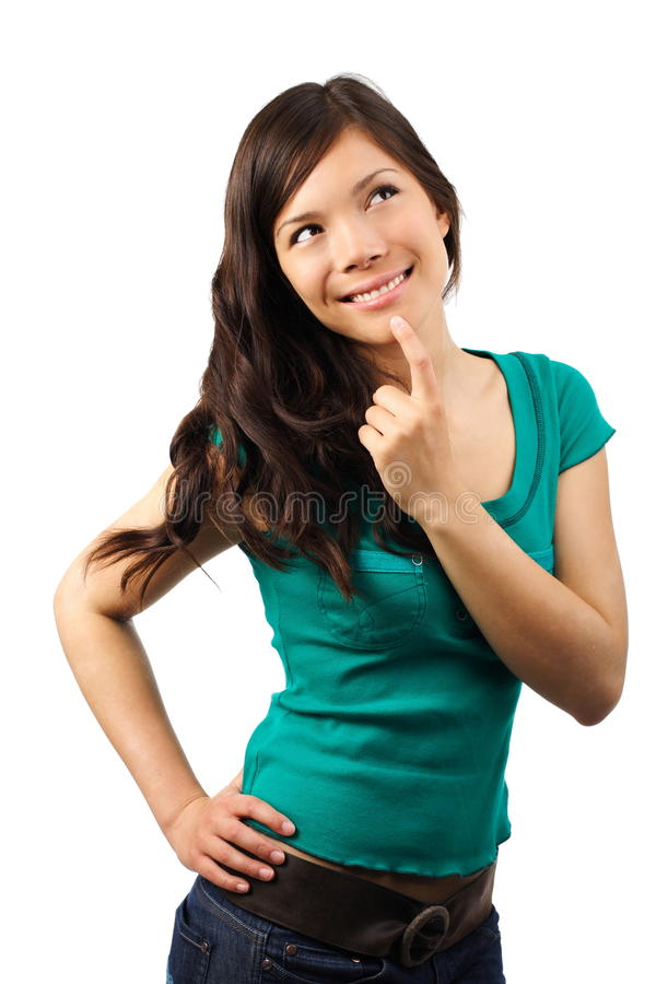 Download Thinking Woman Stock Images - Image: 9717974