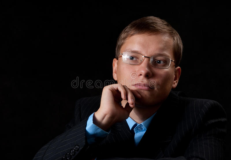 Download Thinking Young Businessman Stock Images - Image: 11363184
