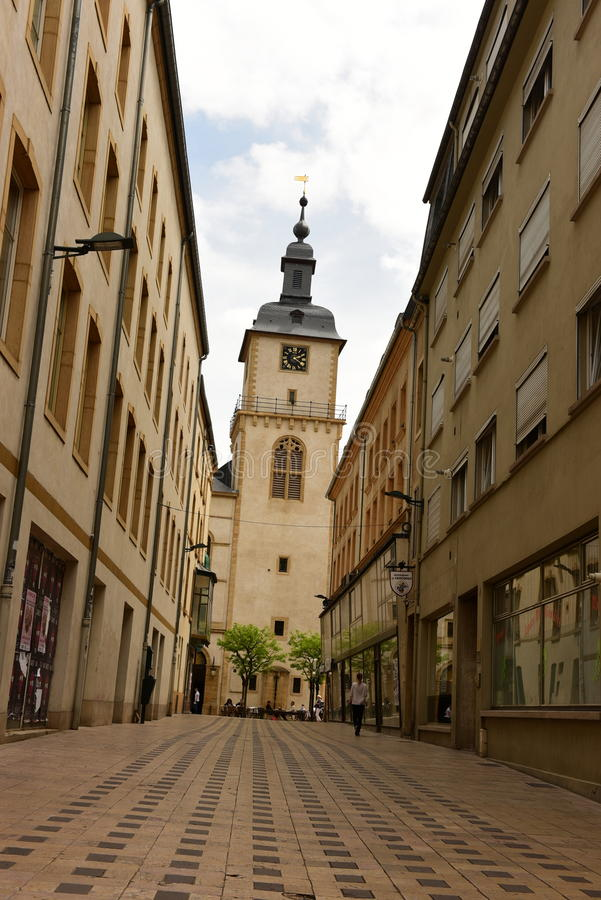 Thionville, France stock image