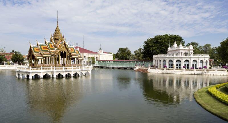 Thiphya-arte di Phra Thinang Aisawan immagini stock libere da diritti