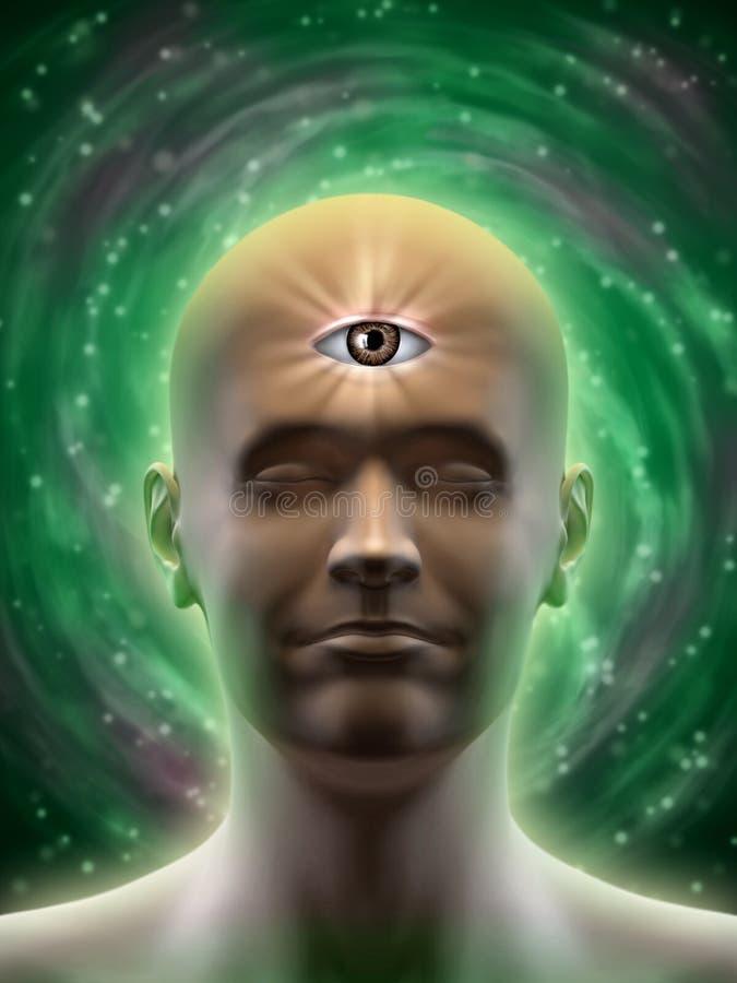 Download Third eye stock illustration. Illustration of icon, religion - 24987274