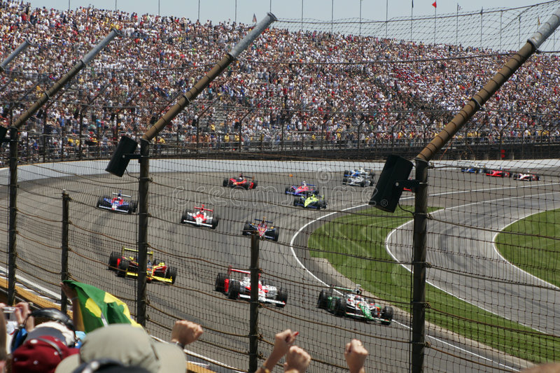 Download Third Turn stock image. Image of race, road, fans, fast - 465605