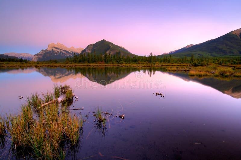 Third Vermillion Lake stock photography