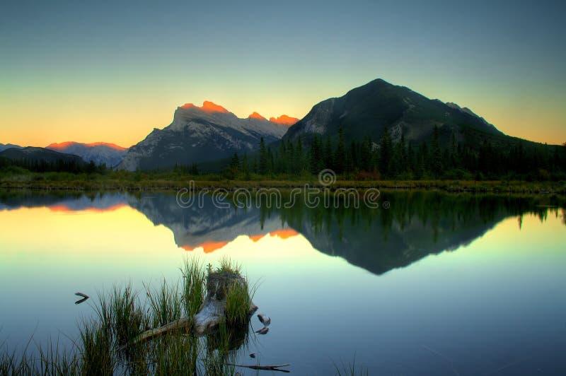 Third Vermillion Lake royalty free stock photo