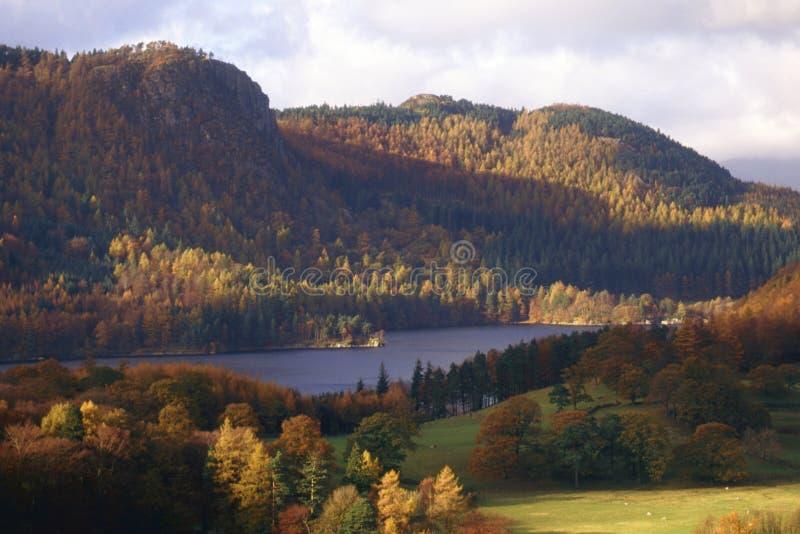 Thirlmere, secteur anglais de lac image libre de droits