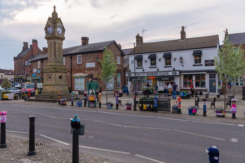 Thirsk, North Yorkshire, het UK royalty-vrije stock foto