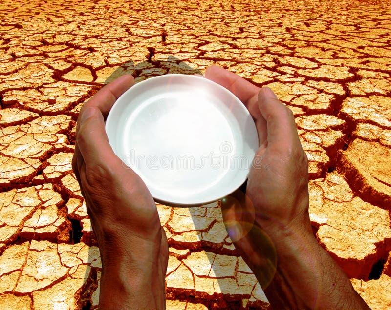 thirsting мир стоковая фотография