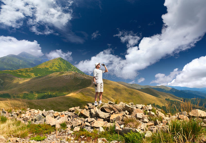 Download Thirsty Hiker Stock Images - Image: 24451784