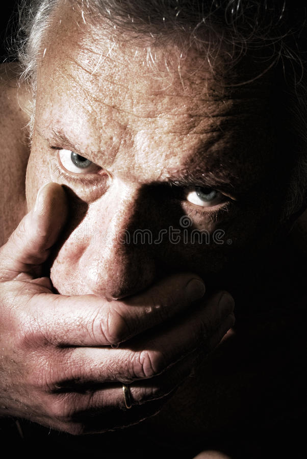 Download Thirsty man stock image. Image of portrait, handful, drink - 18886687