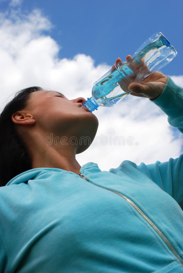 Download Thirsty woman stock photo. Image of white, expression - 5842916
