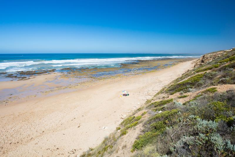 Thirteenth plaża w Barwon głowach obrazy royalty free