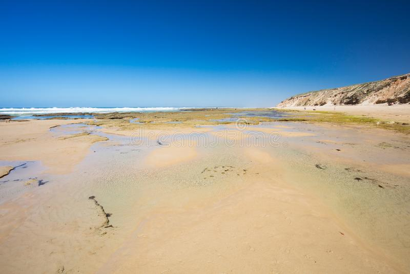 Thirteenth plaża w Barwon głowach obraz stock