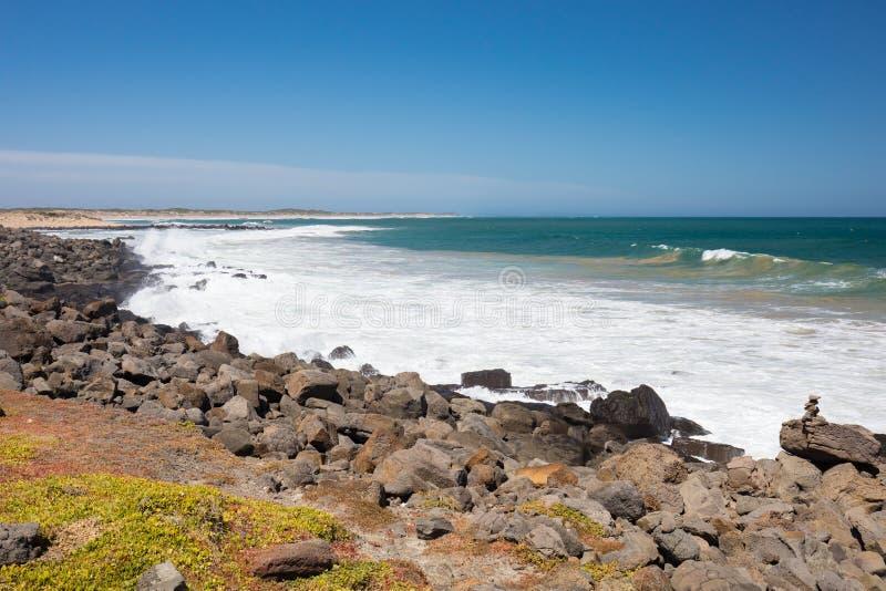 Thirteenth plaża w Barwon głowach zdjęcia stock