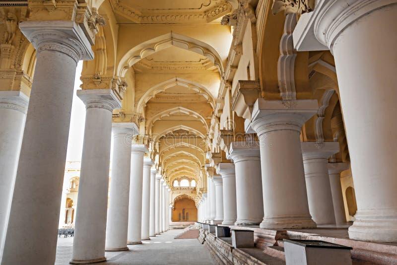 Thirumalai Nayak宫殿 免版税图库摄影