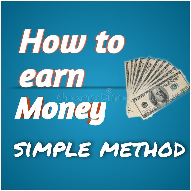 Free This Is A Youtube Tamplate For Earning Money Royalty Free Stock Image - 216886926