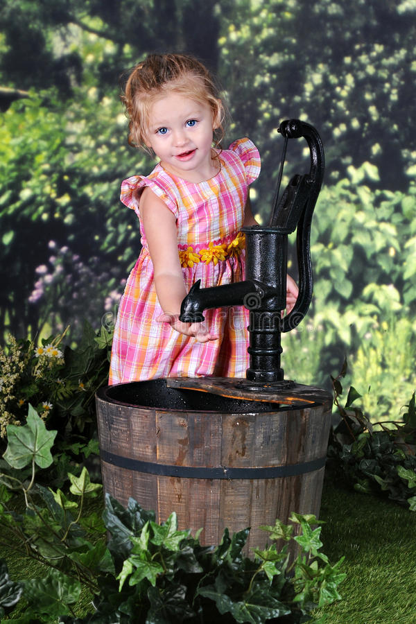 Free This Well Went Dry Royalty Free Stock Image - 58004586