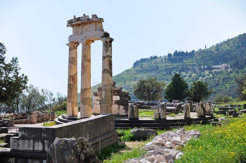 Tholos de Athena Pronoia foto de stock