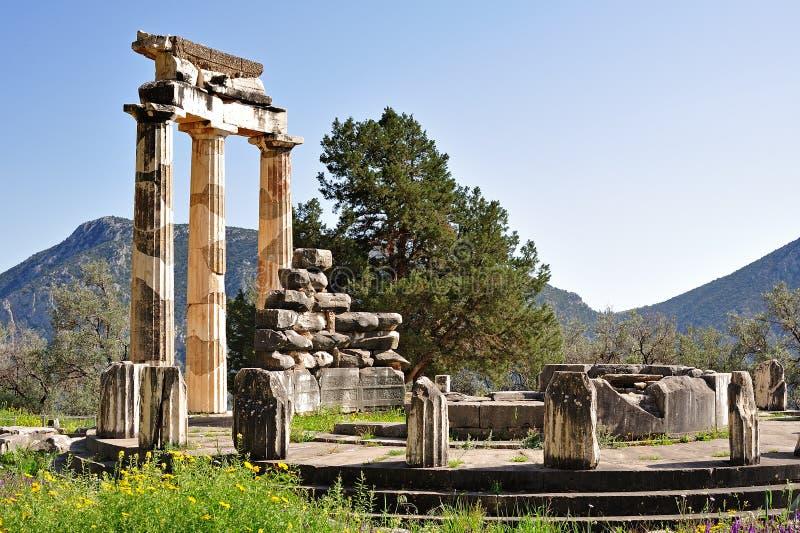 Tholos de Athena Pronoia imagem de stock
