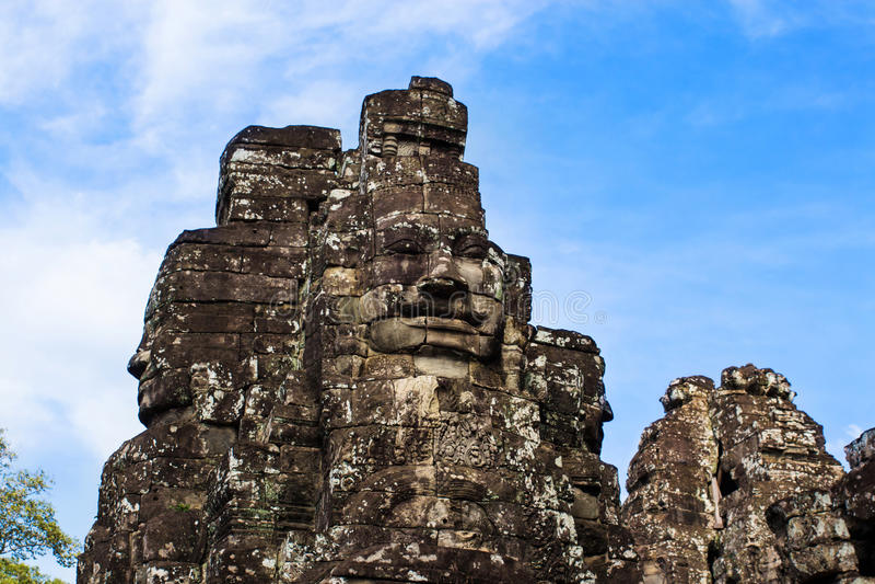 thom Камбоджи angkor стоковое фото rf