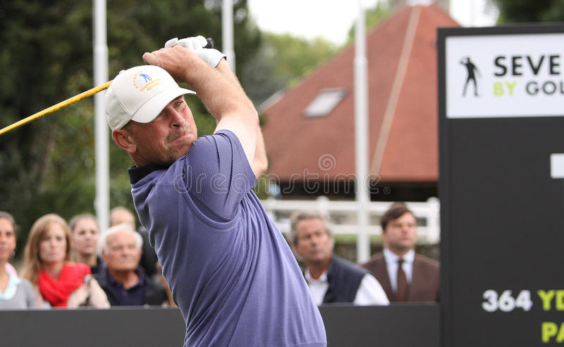 Download Thomas Bjorn At The Seve Trophy 2013 Editorial Stock Photo - Image: 34148408