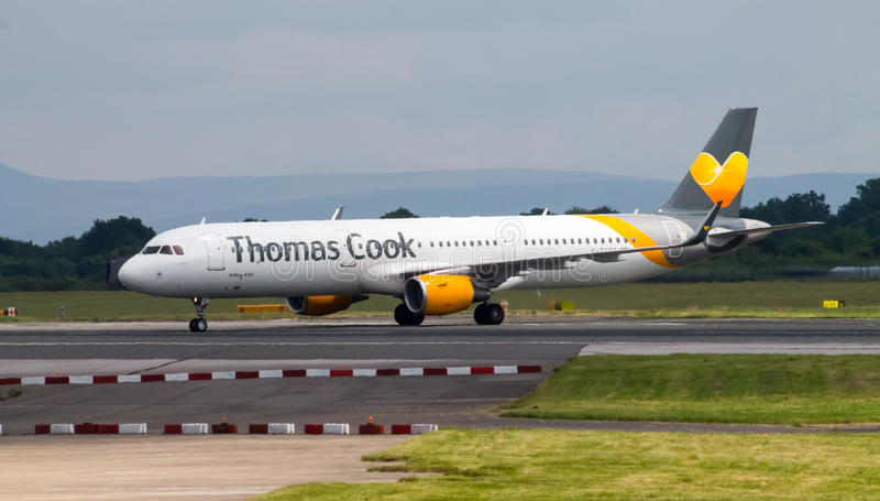 Thomas Cook Airways Airbus A320 stockfotografie