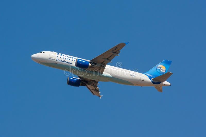 A320 Thomas Cook Scandinavia photos libres de droits