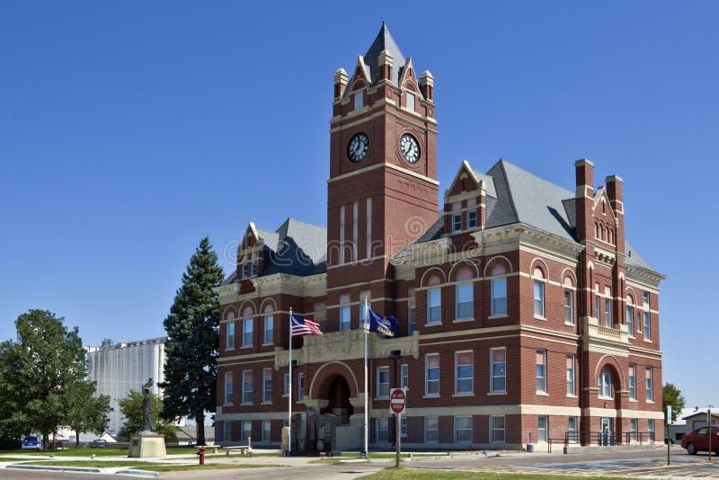 Thomas County Courthouse, Colby, Kansas stock afbeelding