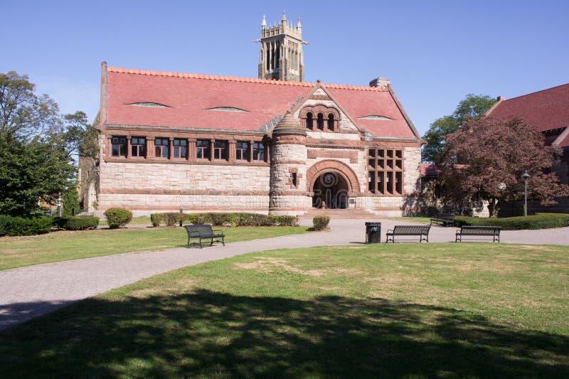 Thomas Crane Public Library - oct 4, 2017 fotografía de archivo