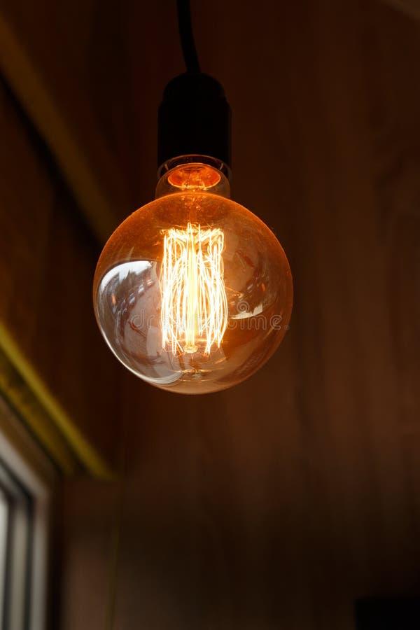 Thomas Edison Bulb arkivfoto