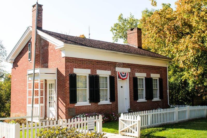 Thomas Edison home inventor. Worlds most renown inventor Thomas Alva Edison royalty free stock photo