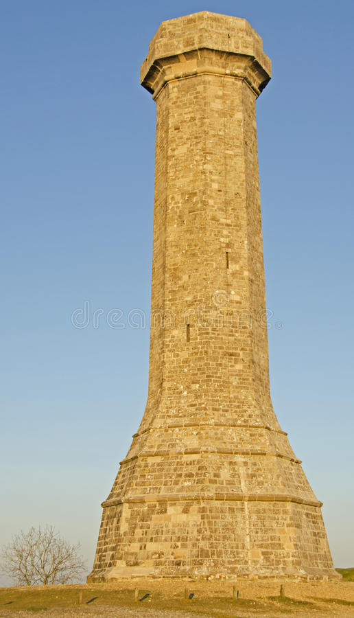 Thomas Hardy-Monument lizenzfreies stockbild