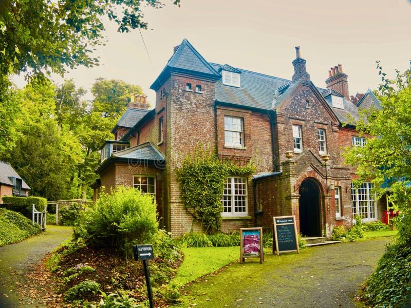Thomas Hardys Home och museum royaltyfria bilder