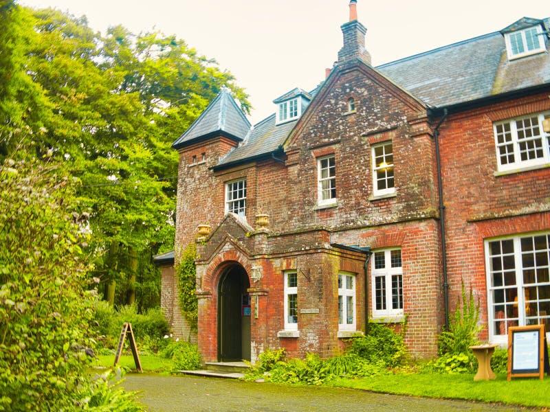Thomas Hardys House in Dorchester stock foto