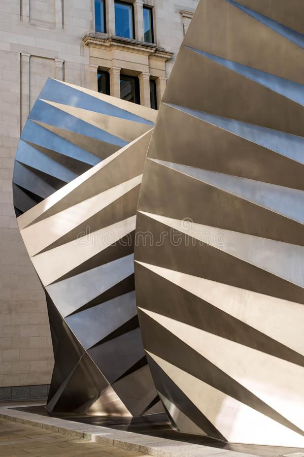 Thomas Heatherwick Angel Wings Sculpture fotos de archivo libres de regalías