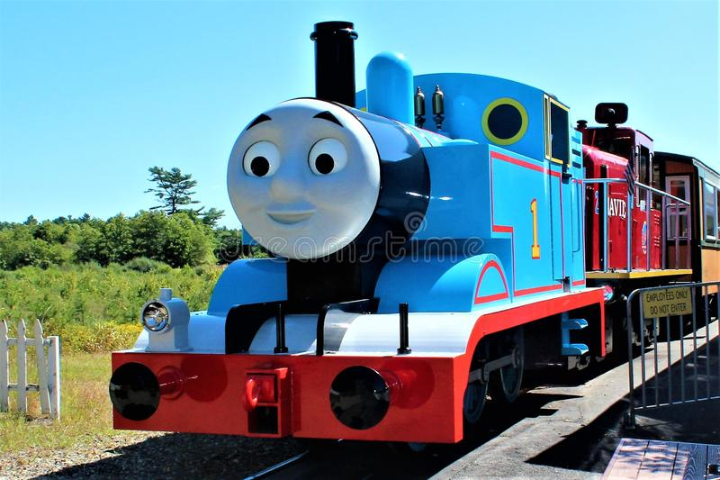 Thomas il treno fotografia stock libera da diritti