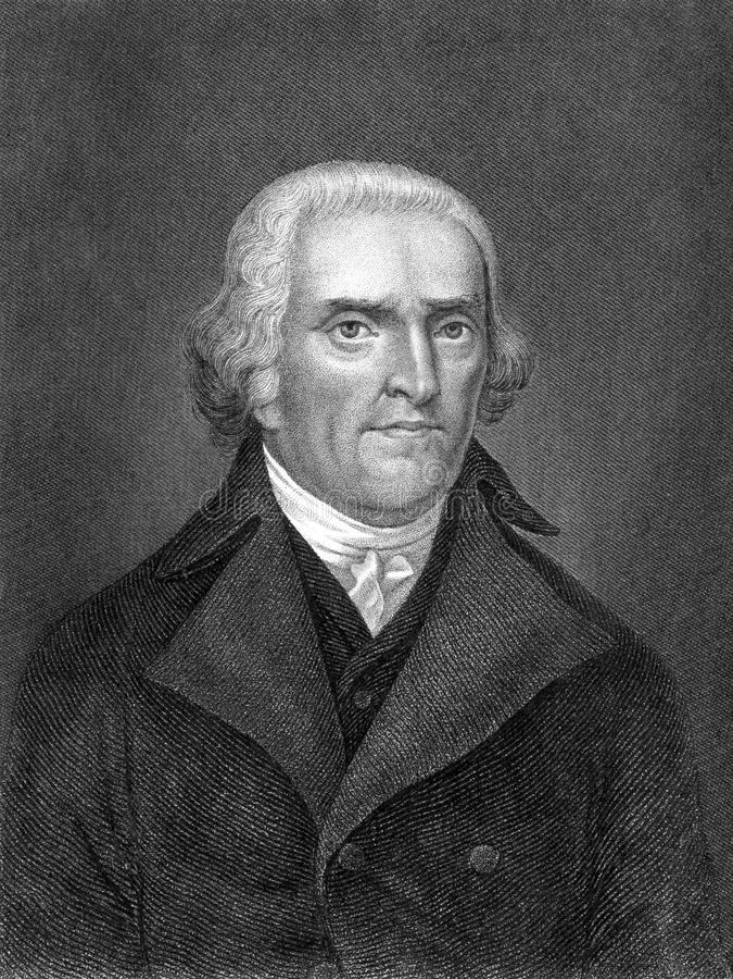 Thomas Jefferson royalty free stock images