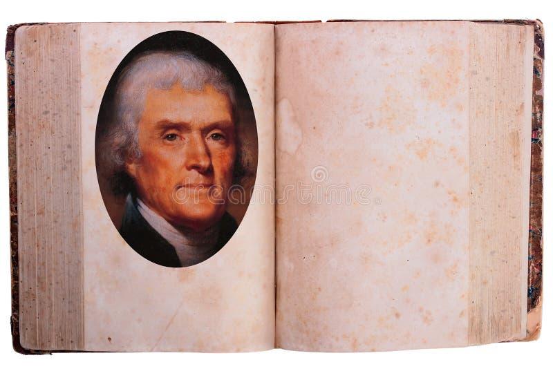 Thomas Jefferson - 3. Präsident lizenzfreies stockfoto