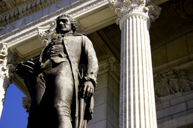 Thomas jefferson obrazy royalty free