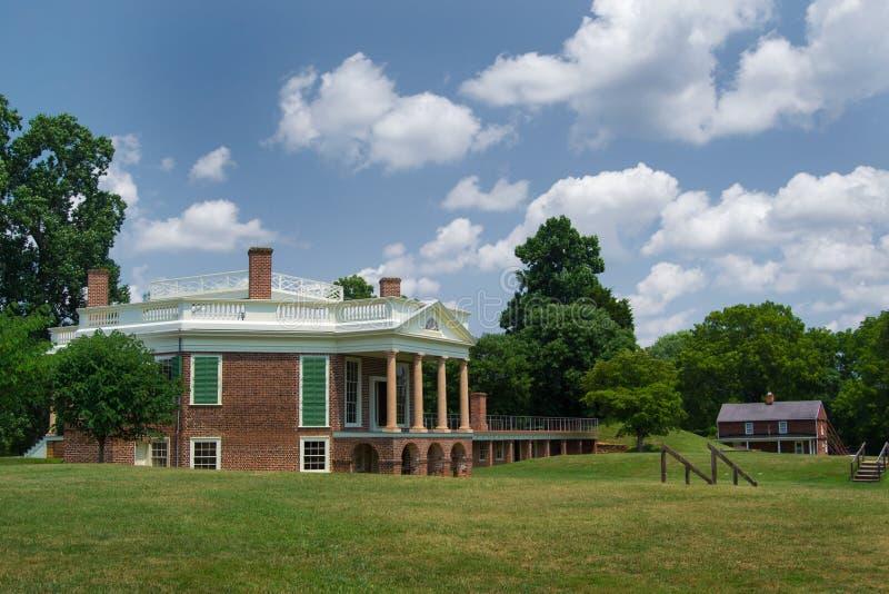 Thomas Jefferson - foresta del pioppo fotografie stock libere da diritti