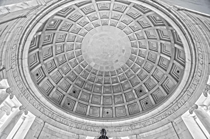 Thomas Jefferson Memorial royaltyfria bilder