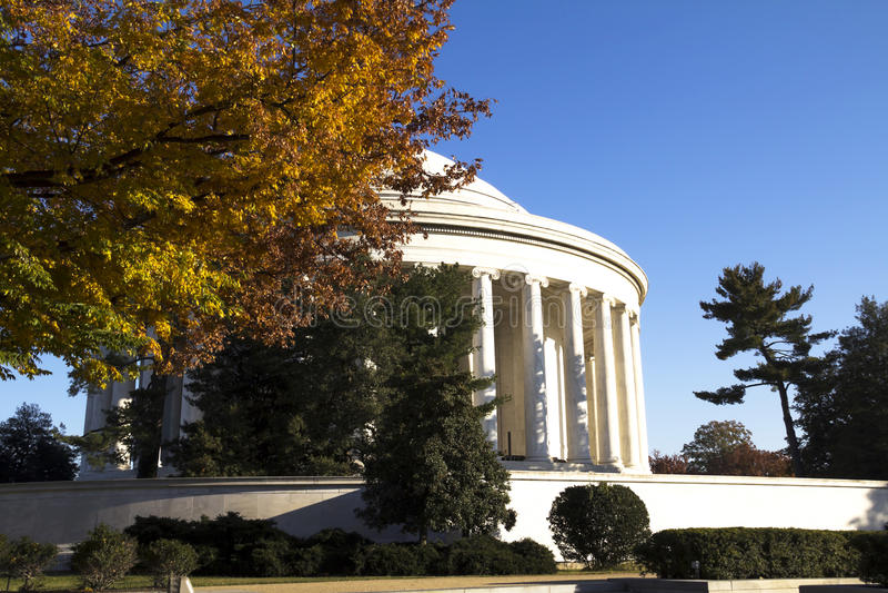 Thomas Jefferson Memorial arkivfoto