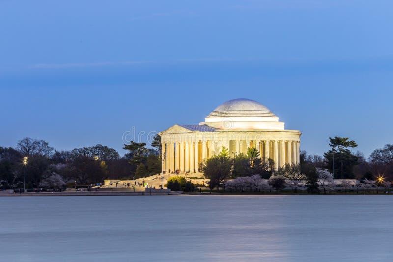 Thomas Jefferson Memorial Building arkivfoton