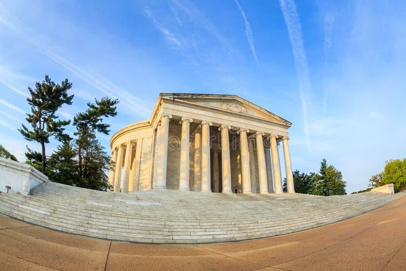 Thomas Jefferson Memorial i Washington DC royaltyfri bild