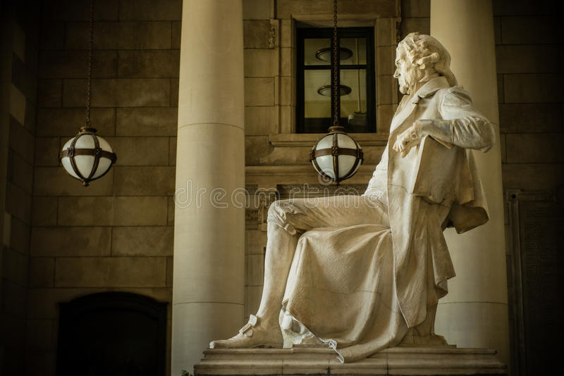 Thomas Jefferson Memorial in St. Louis. The Thomas Jefferson Memorial at the Missouri History Museum in Forest Park in St. Louis, Missouri, USA stock photography