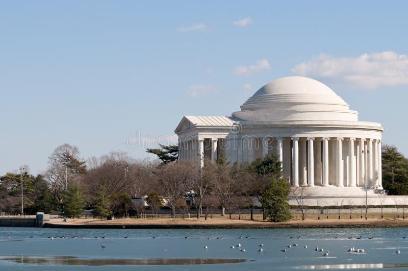 Thomas Jefferson memorial in Washington DC royalty free stock photo