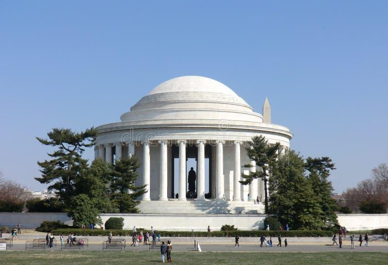 Thomas Jefferson Memorial am Washington DC lizenzfreie stockbilder