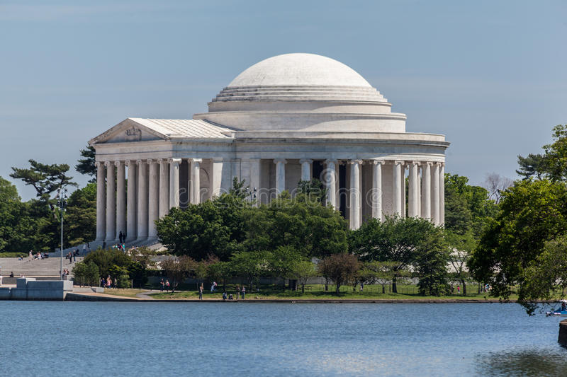 Thomas Jefferson Memorial Washington DC Stock Image ...