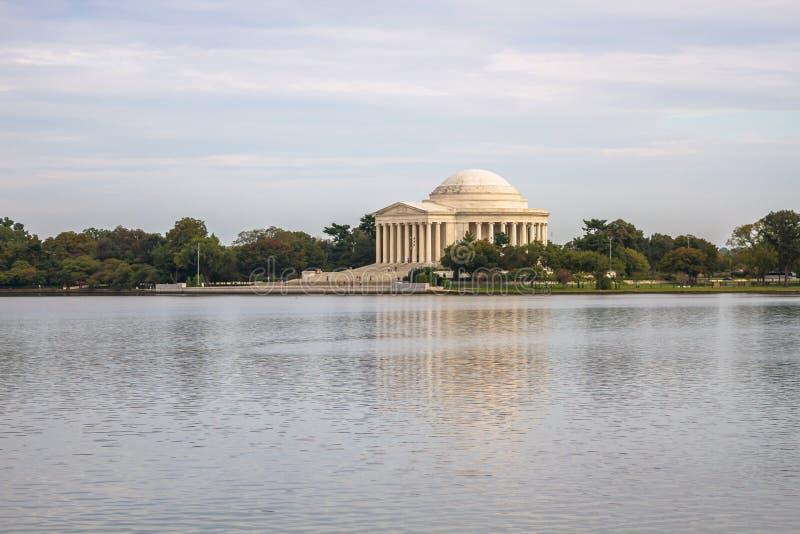Thomas Jefferson Memorial in Washington DC, de V royalty-vrije stock afbeeldingen