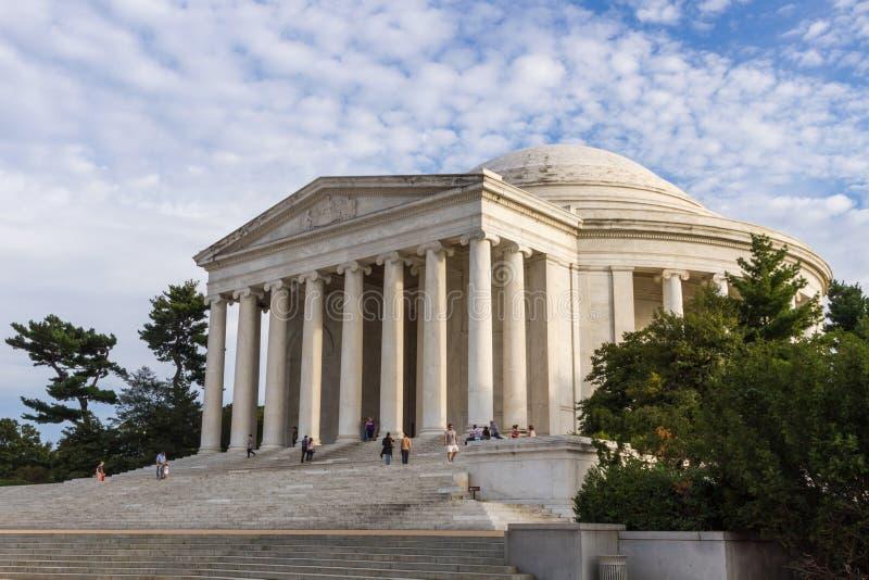 Thomas Jefferson Memorial in Washington DC, de V stock afbeelding